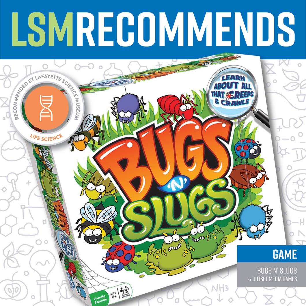 August 21 • Bugs N' Slugs