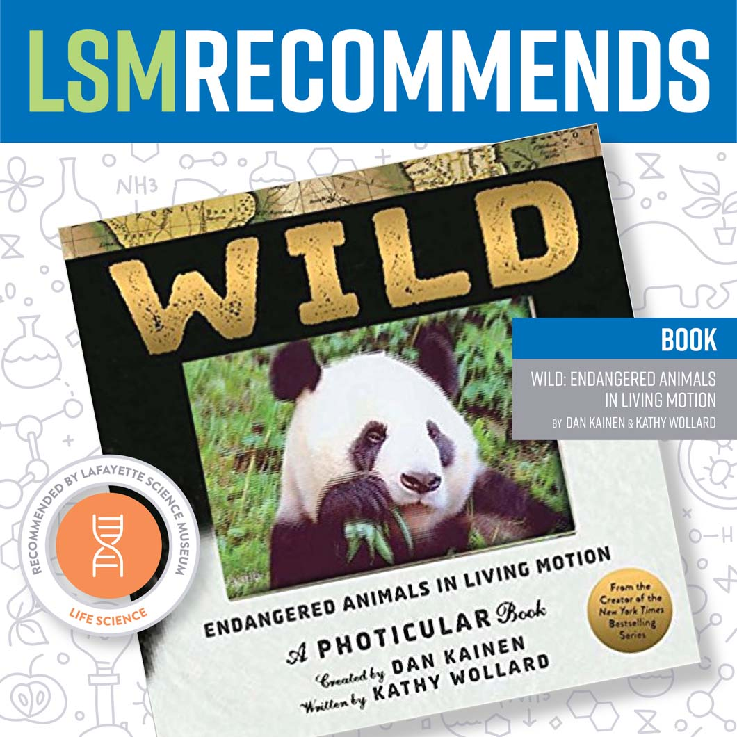 May 15 • Wild: Endangered Animals in Living Motion